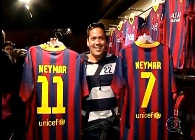 ¿Qué número utilizará Neymar en el Barcelona?