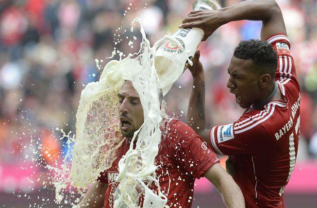 Problemas en el Bayern Munich: Ribery furioso con Boateng