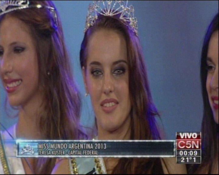 Conocé a la porteña que ganó el Miss Mundo Argentina 2013
