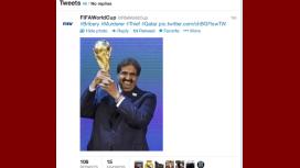 Hackearon las cuentas de Twitter de la FIFA y Blatter