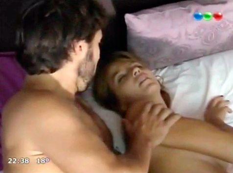La escena súper hot de Diego Torres y Marcela Kloosterboer