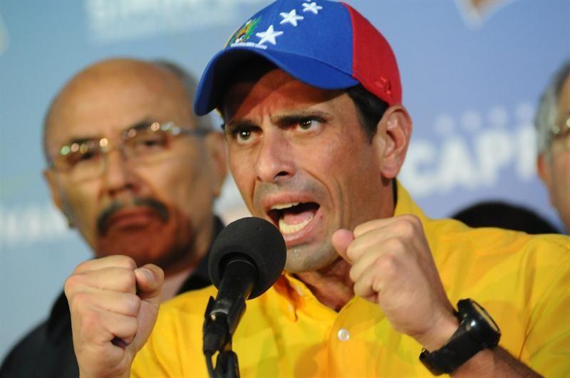 Capriles presentará la impugnación formal de las elecciones