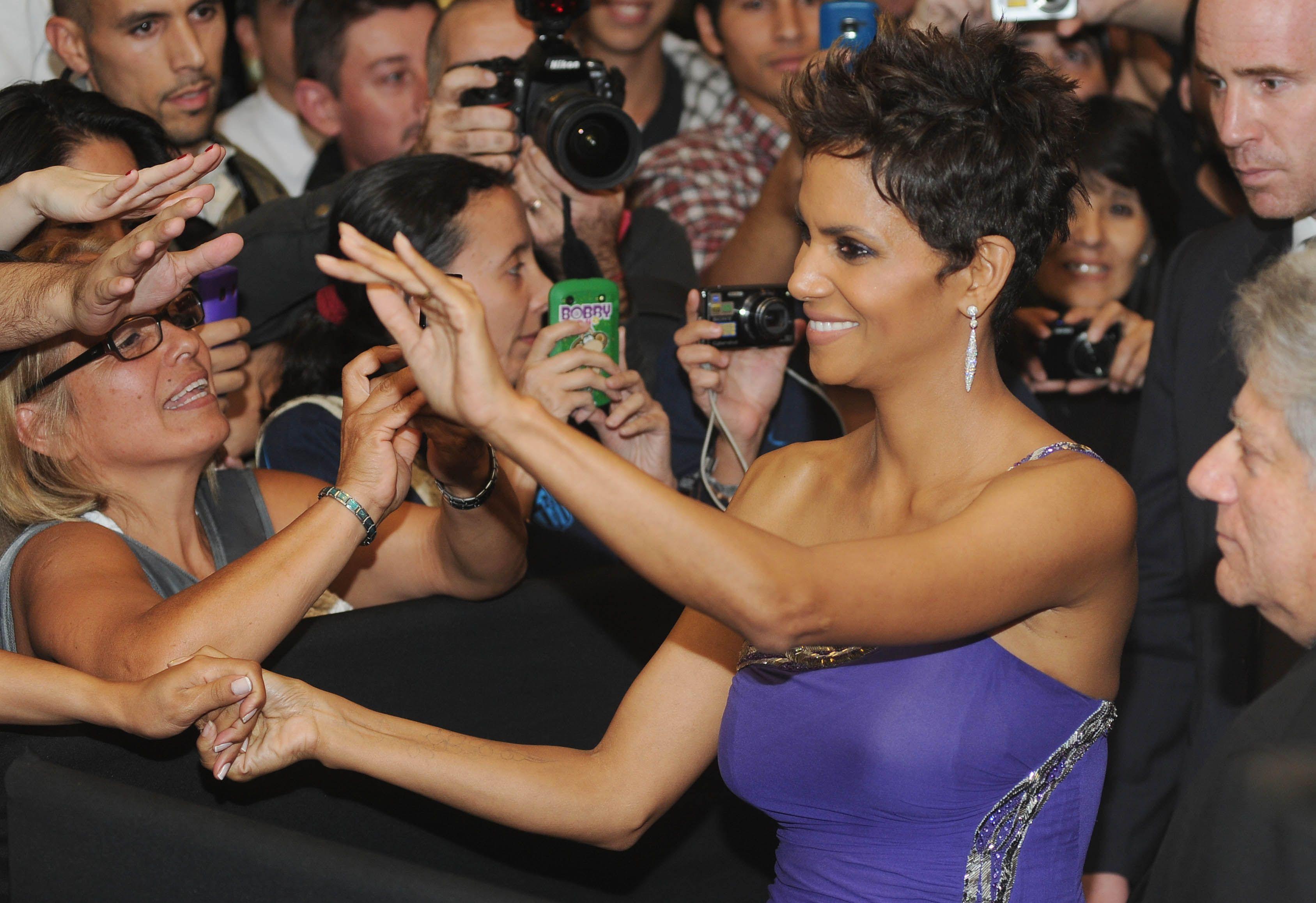 Halle Berry está en la Argentina y presentó su nueva película