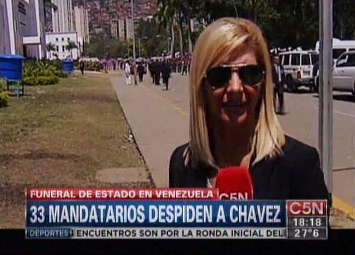 Nuevo informe de la enviada especial de C5N a Venezuela