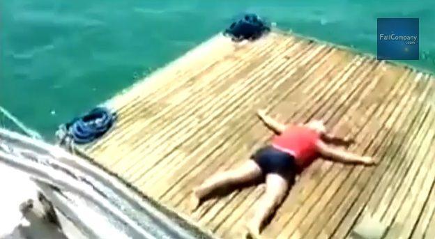 VIDEO: Un borracho que termina demasiado mal