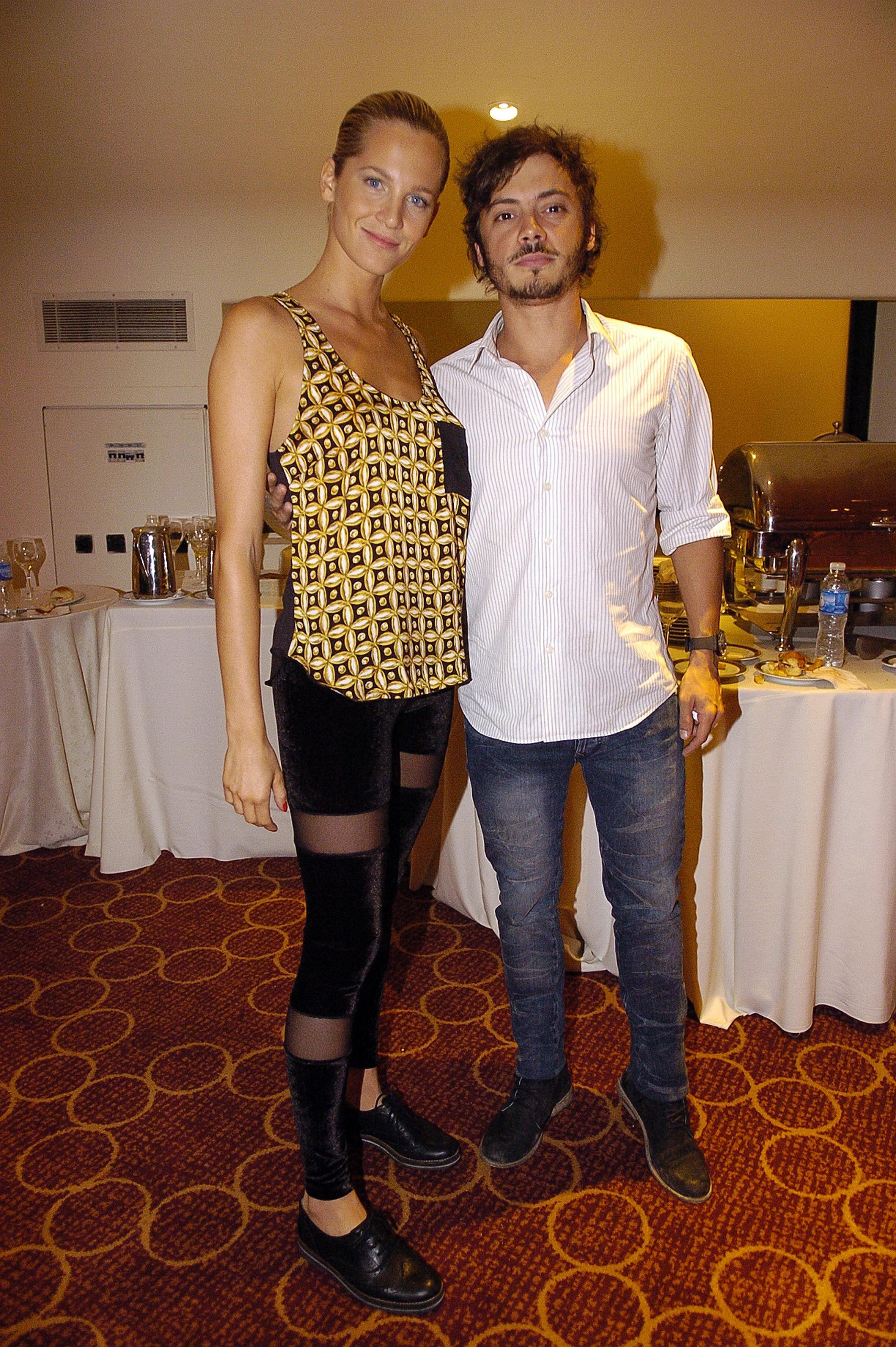 Tomás Fonzi y Liz Solari