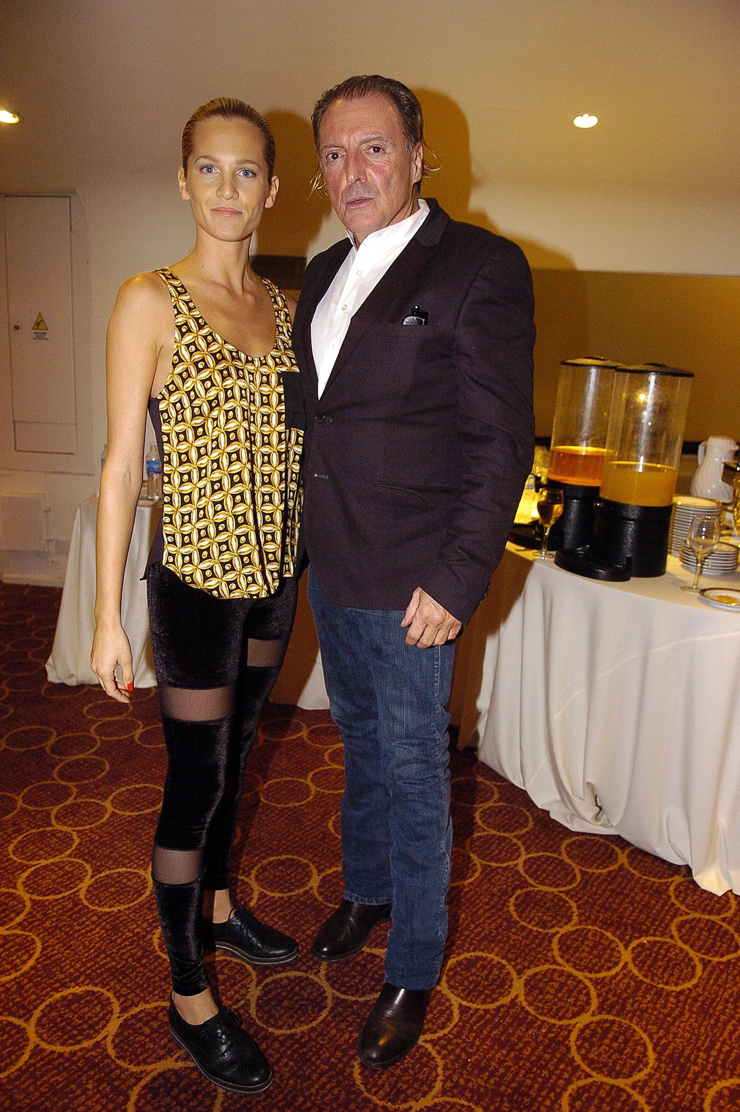 Liz Solari y Armand Assante