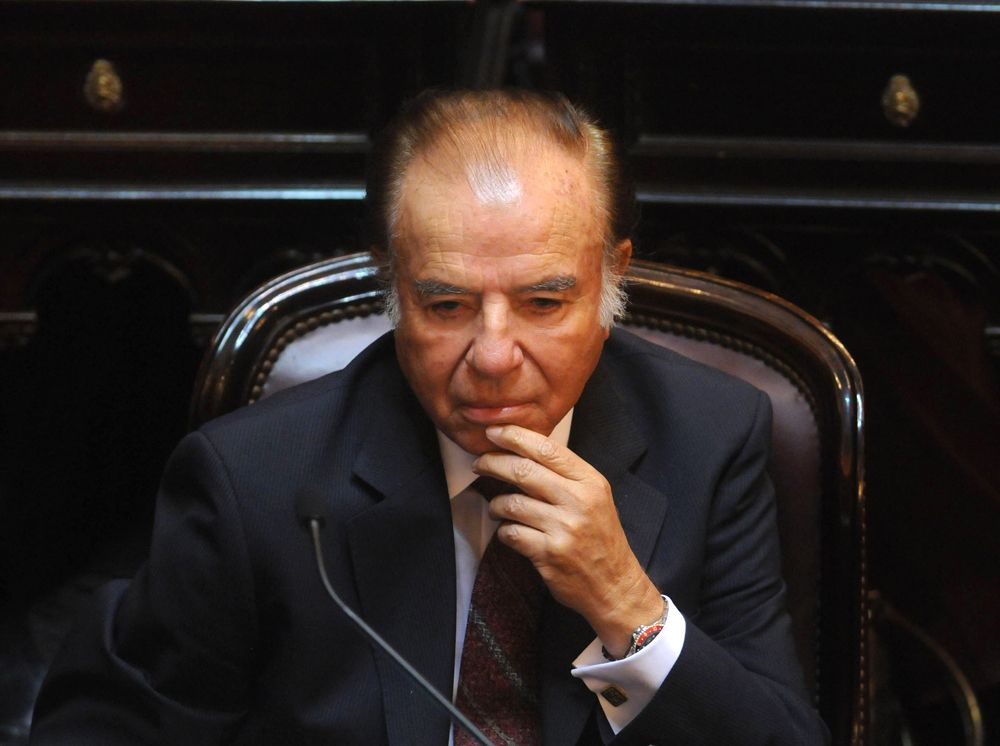 Condenaron a Carlos Menem y Oscar Camilión por la Causa Armas