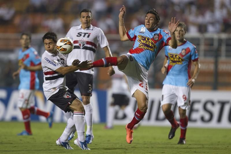 Arsenal consiguió un valioso punto ante San Pablo en Brasil
