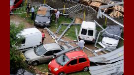 Así fueron los destrozos en Villa Lugano por el temporal