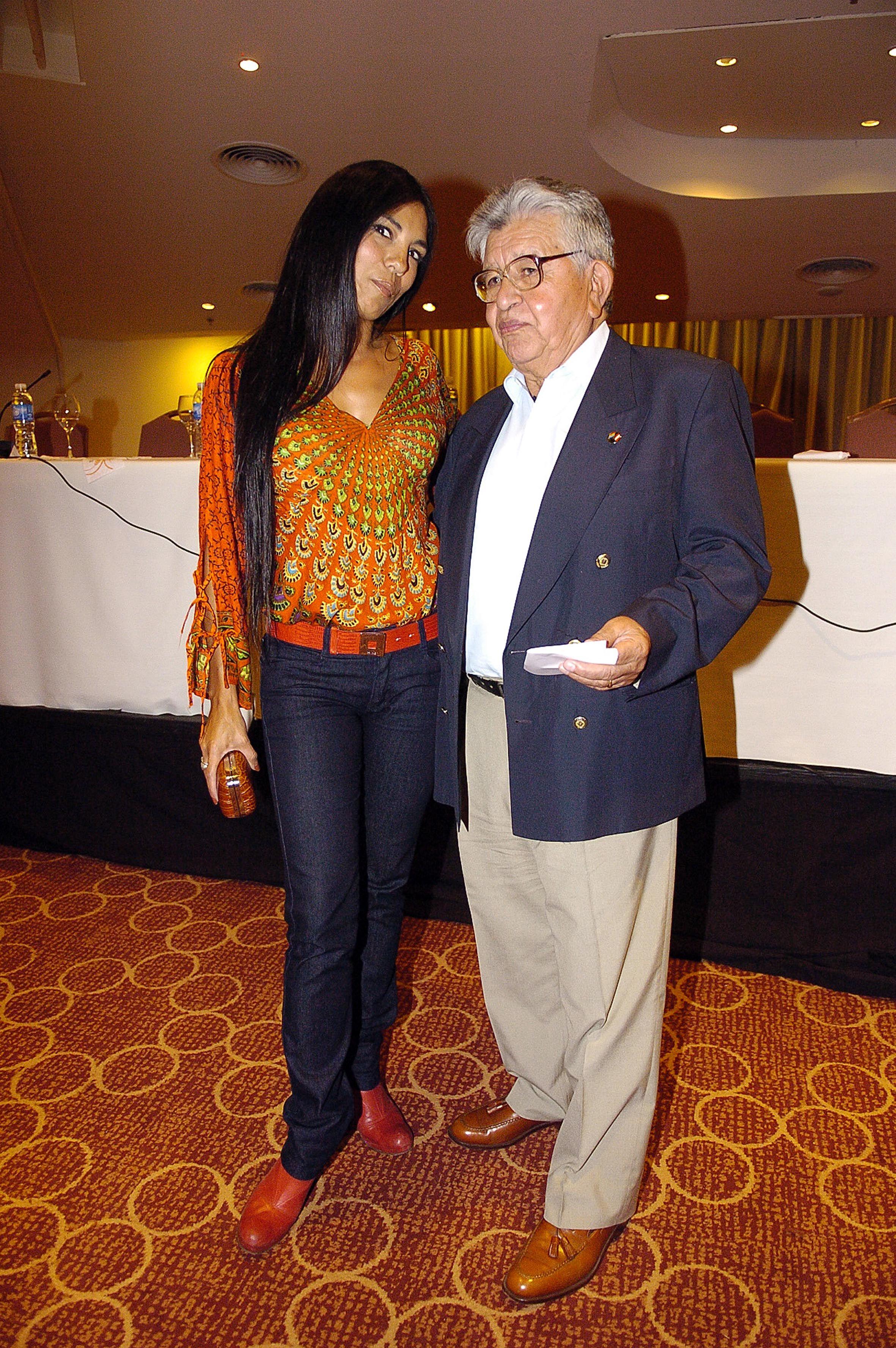 Charo Bogarin y José Palomino