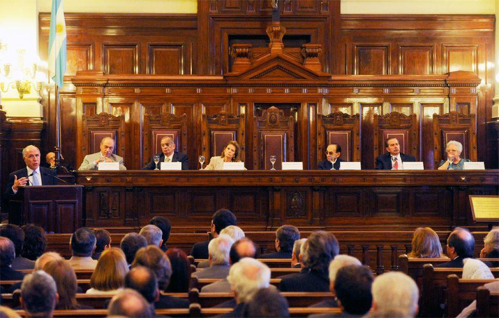 La Corte Suprema decide sobre la reforma de la Magistratura