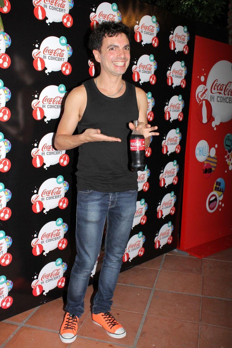 Ale Sergi disfrutó del show de Jamiroquai en el vip de Coca-Cola
