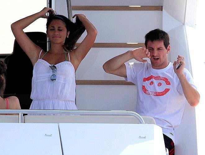 Las fotos íntimas de la vida de Lionel Messi y su familia