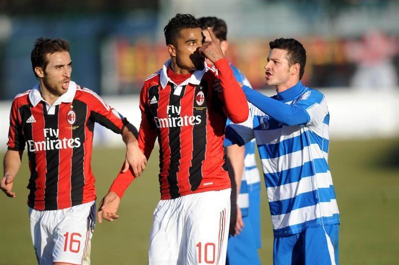 Italia, orgullosa por la actitud del Milan contra el racismo