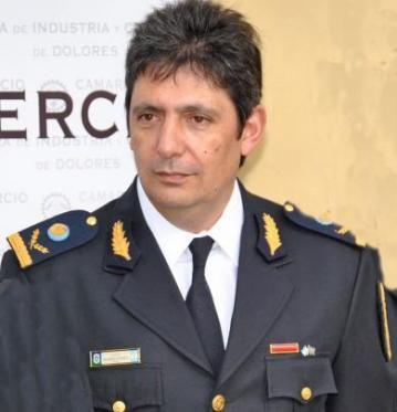 El comisario mayor Roberto Palmeiro
