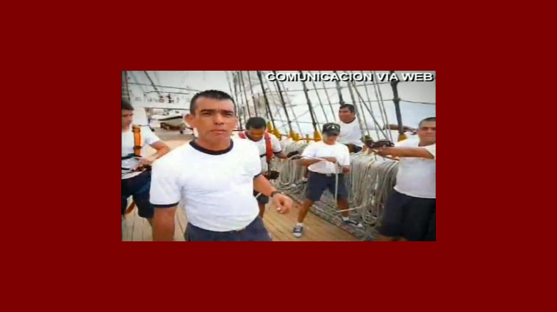 Las primeras imágenes del regreso de la Fragata Libertad
