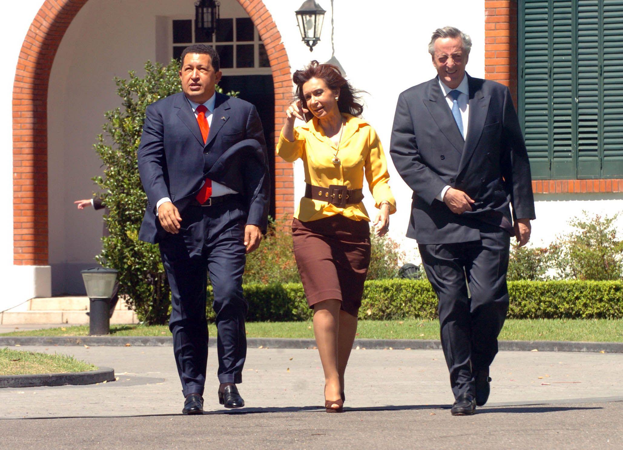Argentina y Chávez, la historia de una relación estratégica