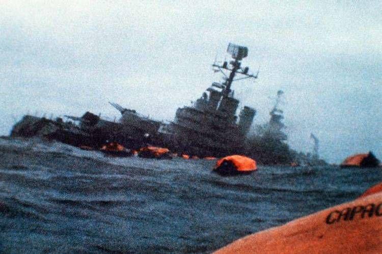 Revelan detalles sobre el hundimiento del crucero Belgrano