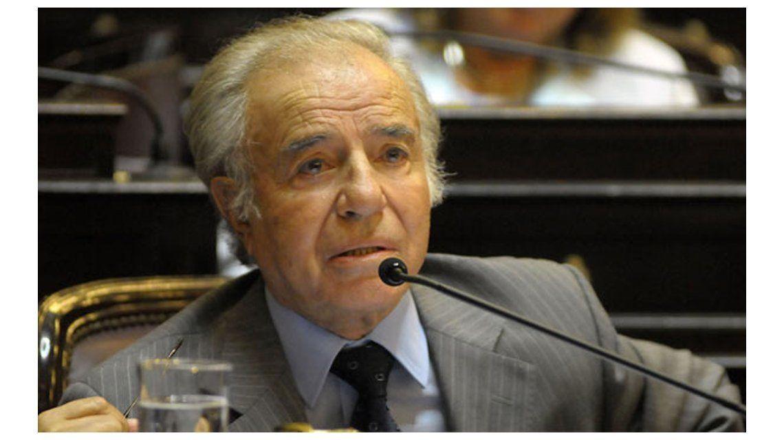 Histórico: condenan a Carlos Menem a siete años de prisión