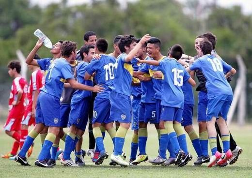 La Novena de Boca campeona en 2012