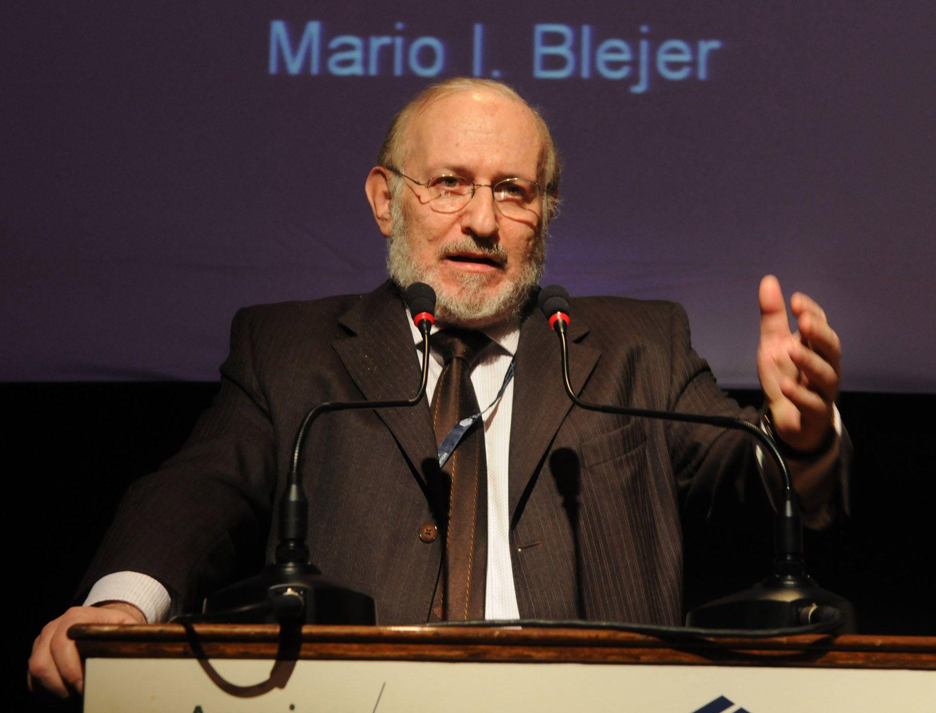 Blejer: La economía irá recuperándose de a poco, no vamos a caer en una recesión