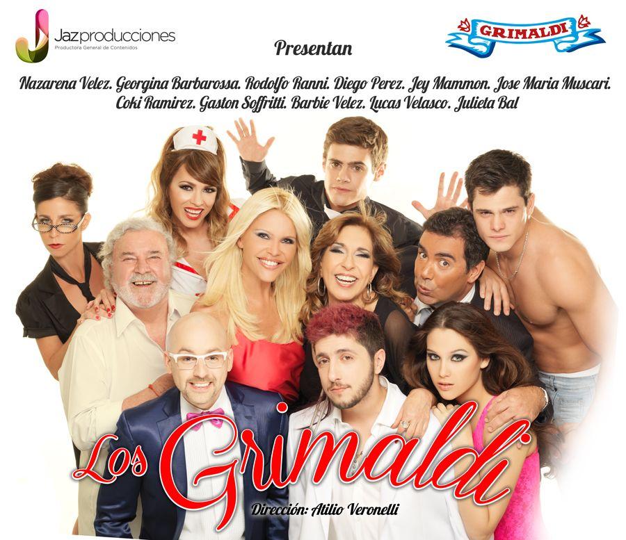 Los Grimaldi, la obra de Nazarena Vélez ya tiene su marquesina