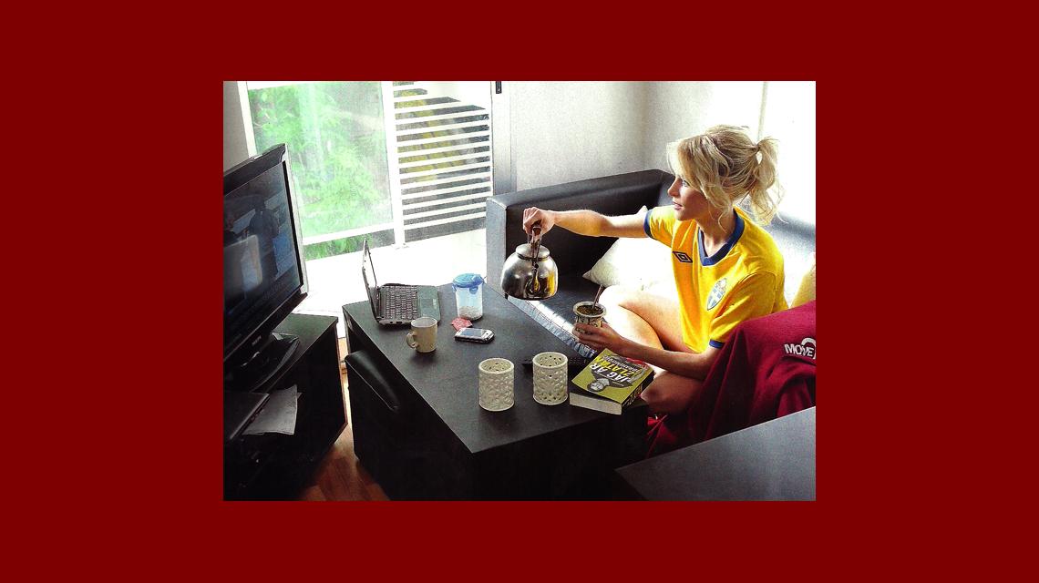 Apareció el video hot de la sueca Alexandra Larsson