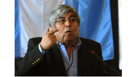 Moyano descarta la re reelección de Cristina Fernández