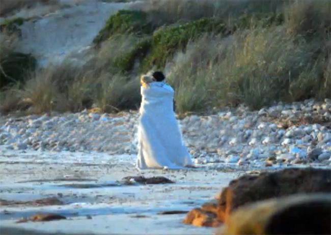 El video hot de Liz Solari en una playa de Punta del Este