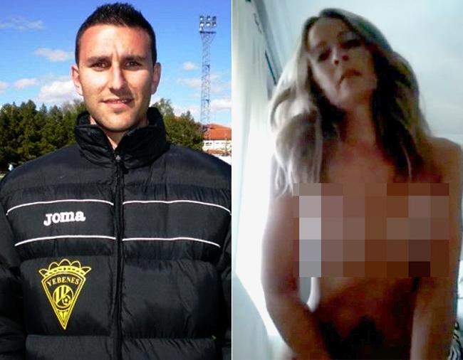 Un futbolista, en la mira por el video de la concejal sex