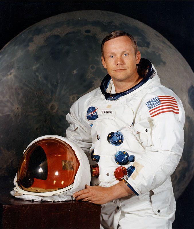 Neil Armstrong, el representante del Rojo que llegó a la Luna