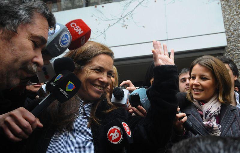 ¿Quién es la beneficiaria del gesto de Sandra Mihanovich?