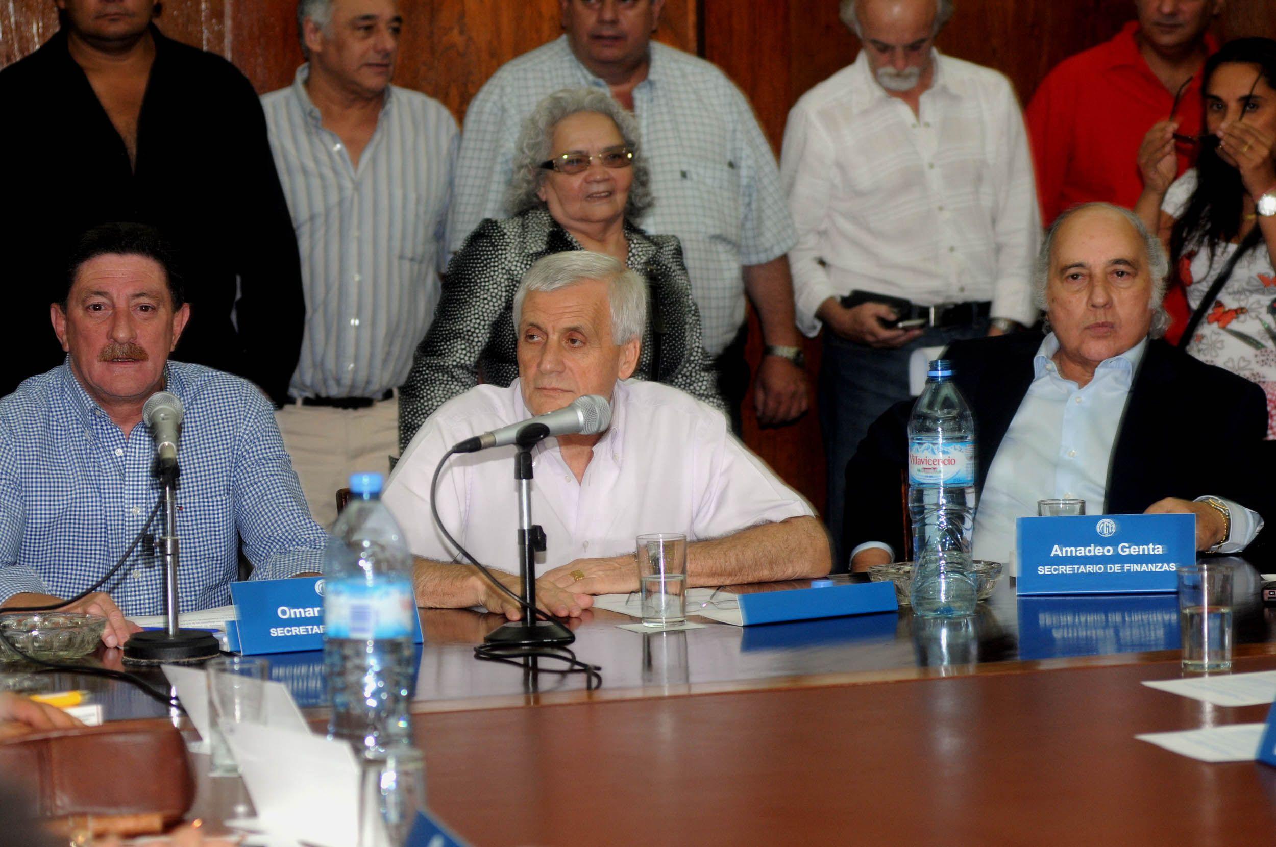 Jorge Omar Viviani y Antonio Caló