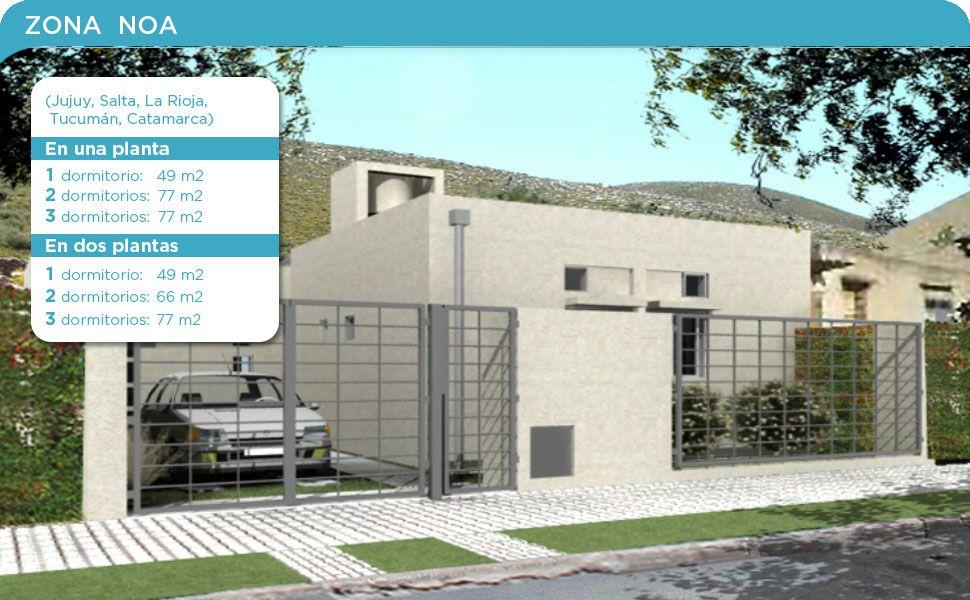 planos de casas procrear zona cuyo