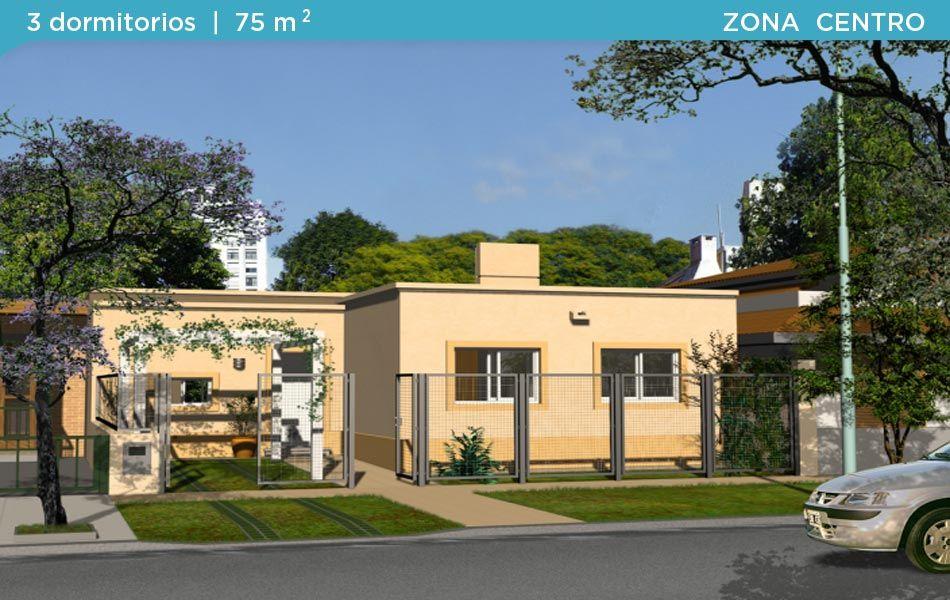 Planos de casas procrear zona noa for Planos de casas norteamericanas