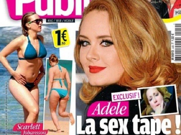Difunden el supuesto video prohibido de Adele