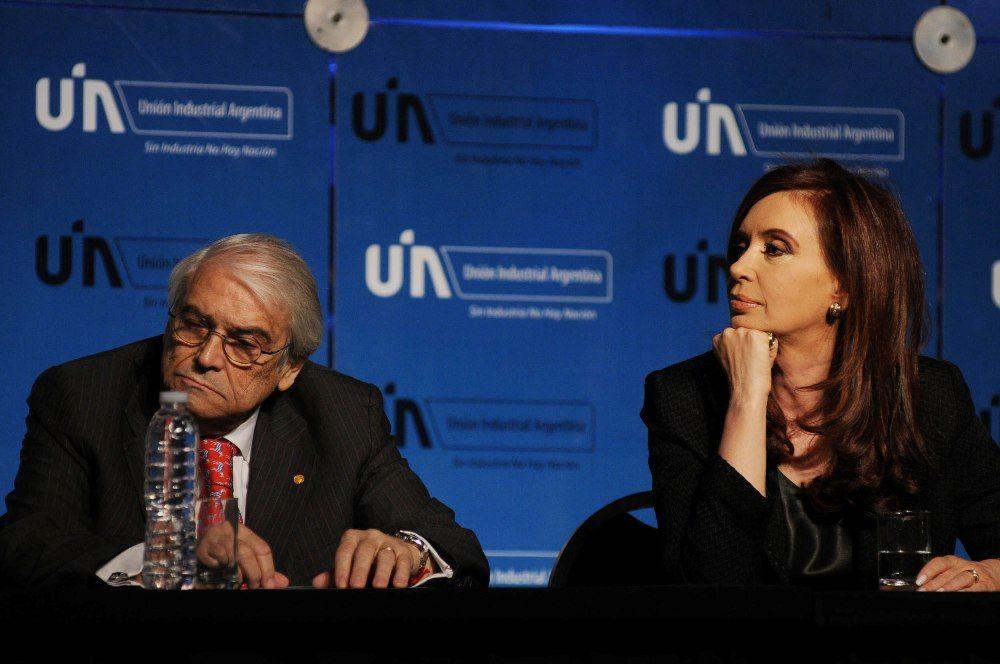 Héctor Méndez y Cristina Kirchner