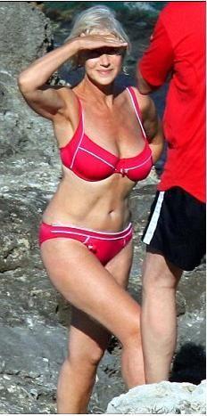 Maduras en bikini