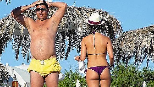 Ronaldo bajará de peso en televisión para combatir la pobreza