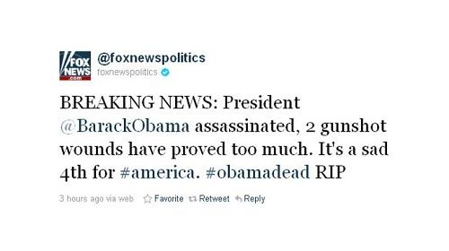 Obama asesinado