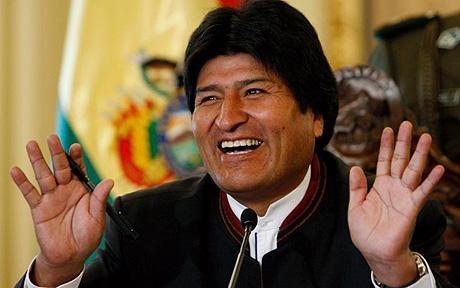 Evo Morales quiere que la comunidad boliviana llene La Bombonera
