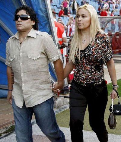 Maradona-novia