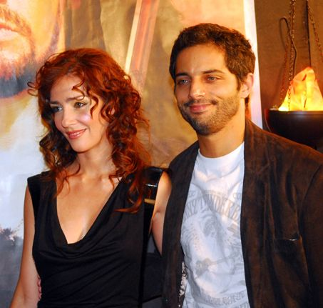 Paola Krum y Joaquin Furriel