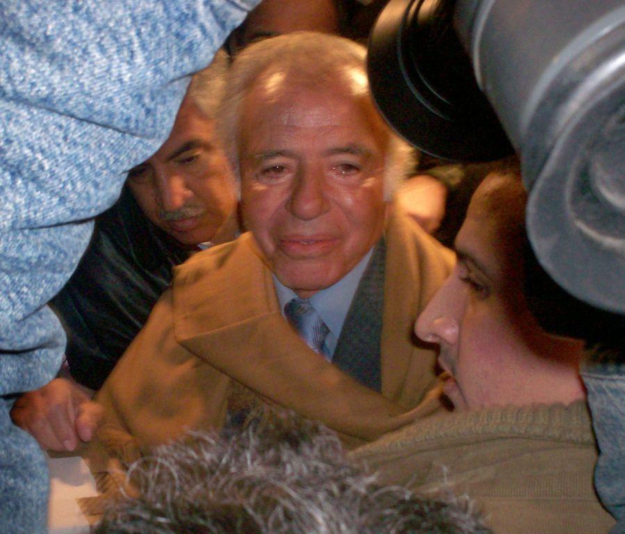 Menem confesó en el Senado que ya es bisabuelo