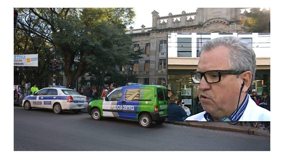 La alumna de La Plata que se disparó está grave