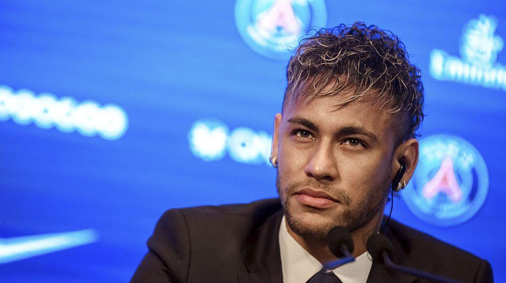 La presentación de Neymar en el PSG