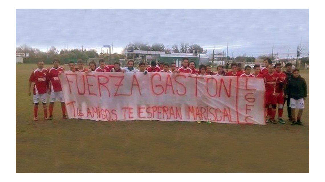 El futbolista Gastón Galeano fue atropellado y le amputaron una pierna