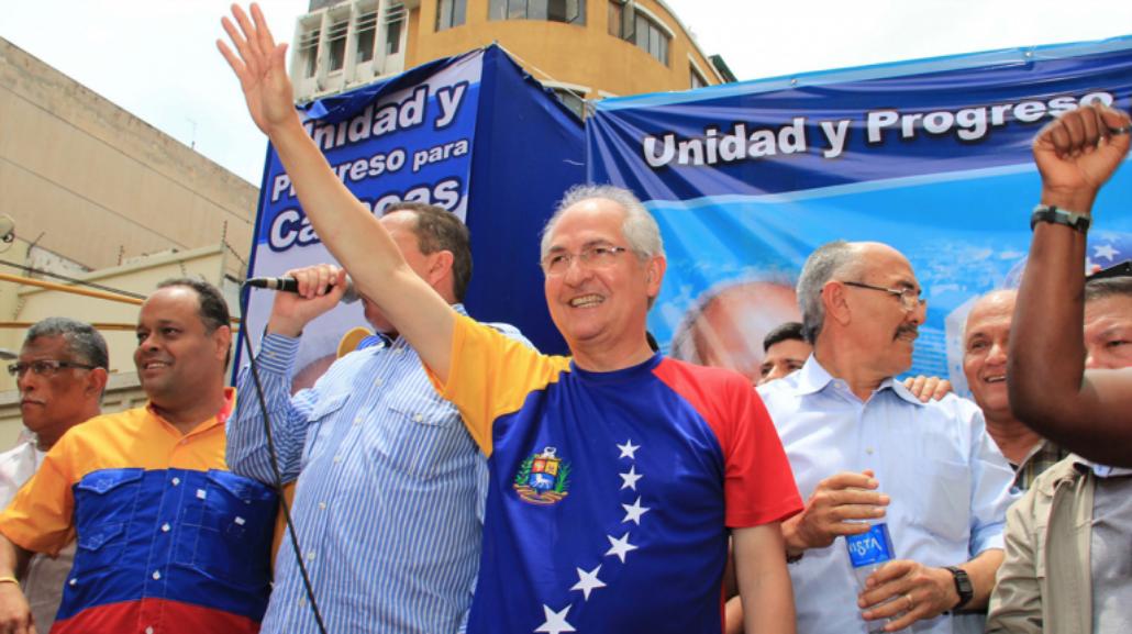 Antonio Ledezma volvió a su casa donde cumple prisión domiciliaria