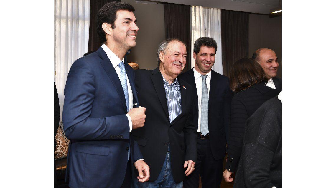 Juan Manuel Urtubey junto a Juan Schiaretti